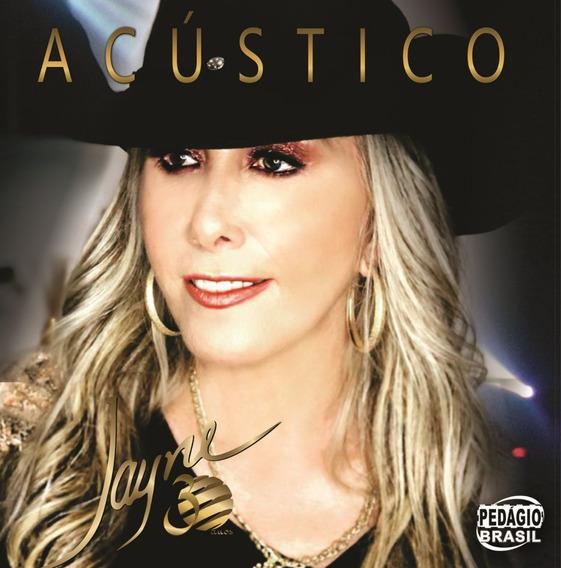 Cd Jayne Acústico 30 Anos - Lançamento ,novo, Original!!!