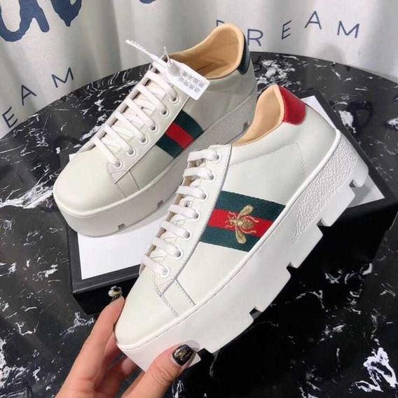 Zapato Gucci Piel Alta Calidad Envío Gratis