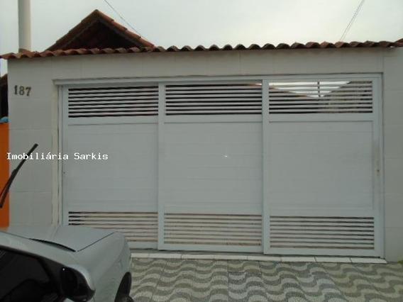 Casa Para Venda Em Praia Grande, Balneário Maracanã, 4 Dormitórios, 2 Suítes, 2 Banheiros, 4 Vagas - 326