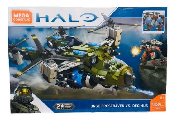 Mega Construx Halo Frostraven Vs. Decimus