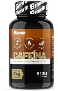 Growth Supplements Cafeína (420mg) 120 Caps (thermogênico)