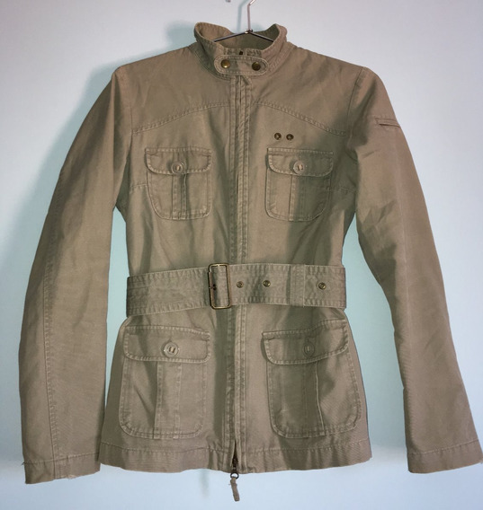 Casaco Estilo Militar Feminino Benetton Tam 44