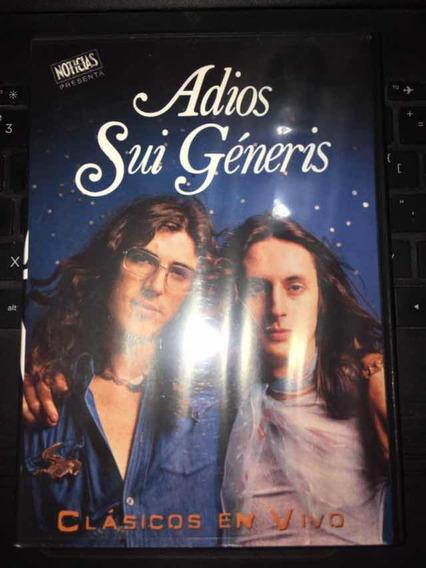Dvd Adios Sui Generis Clasicos En Vivo Revista Noticias
