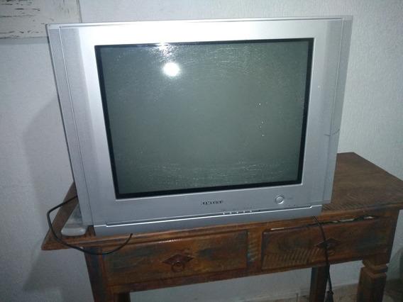 Tv Tubo Tela Plana 21 Polegadas