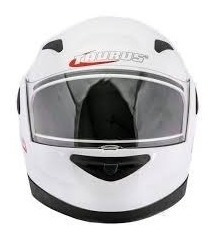Capacete Taurus Zarref V3 - Branco Classic Tamanho 56