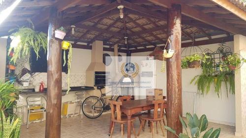 Casa Com 3 Dormitórios À Venda, 220 M² Por R$ 910.000,00 - Mansões Santo Antônio - Campinas/sp - Ca1133
