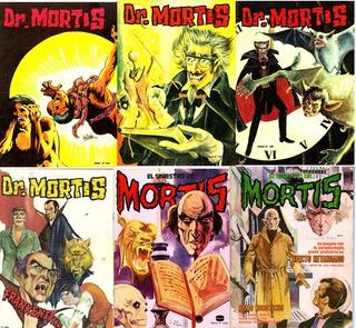 El Siniestro Dr Mortis Coleccion 182 Comics Digitales