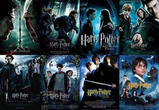 Coleccion Harry Potter Peliculas Full Hd 1080 & 4k Latino
