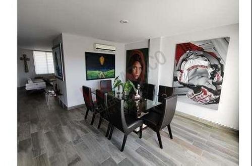 Precioso Pent-house En Renta Amueblado O Sin Amueblar Renovado Y Muy Bien Ubicado En Residencial La Arbolada