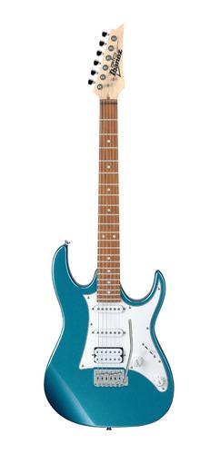 Imagen 1 de 6 de Guitarra eléctrica Ibanez RG GIO GRX40 de álamo metallic light blue con diapasón de jatoba