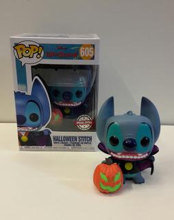 Funko Pop Halloween Stitch 605 Edicion Especial- Minijuegos