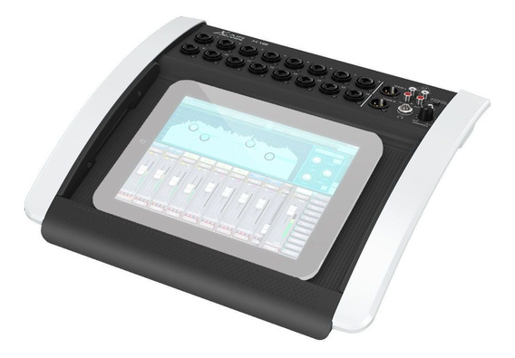 Mesa Som Digital 16 Canais Tablet Wifi X18 Behringer