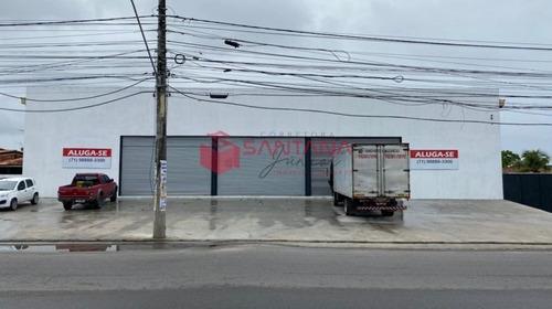 Imagem 1 de 23 de Galpão Para Locação Em Lauro De Freitas ! - 931333