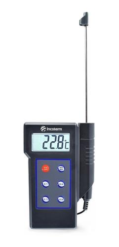 Termômetro Digital Espeto Com Sonda 14cm -50c+300 Incoterm