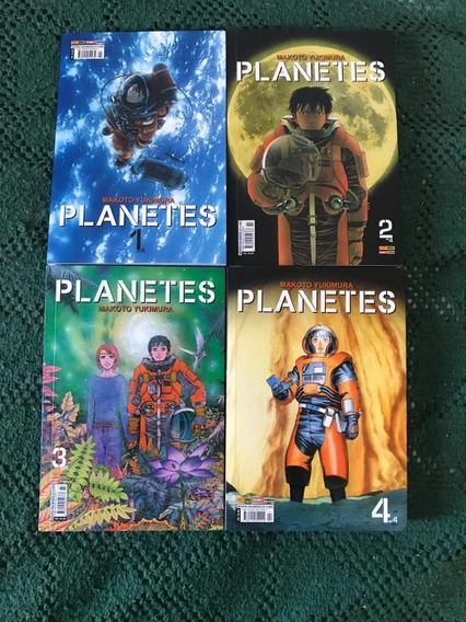 Mangá Planetes Completo Volumes 1 Ao 4 - Panini