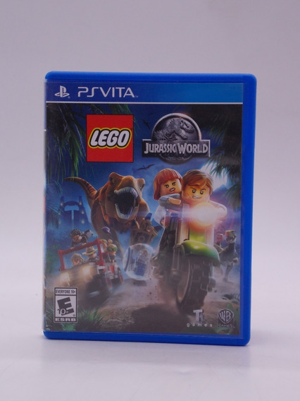Lego Jurassic World Ps Vita Original Mídia Física