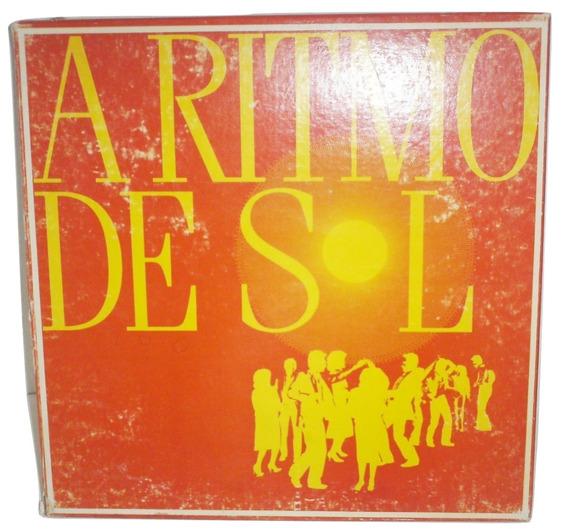8 Discos 1 Lp Pandeado Musica Tropical - A Ritmo De Sol