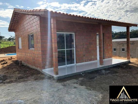 Terreno 1.000m² + Casa 50 M² 2 Dorms Nova Mairinque - Sp 1h