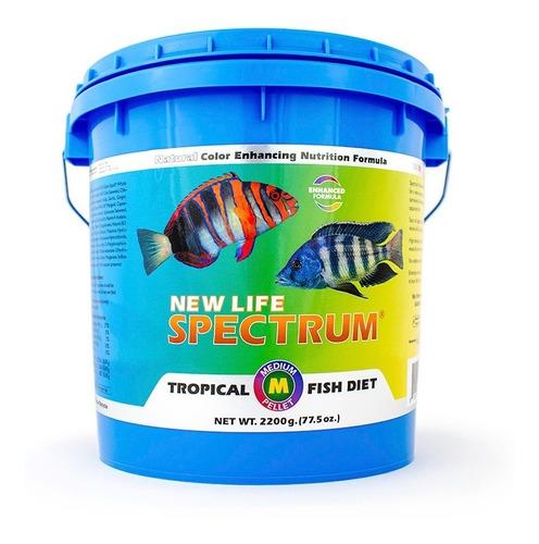 New Life Spectrum Medium 2200gr - Alimento Premium Peces