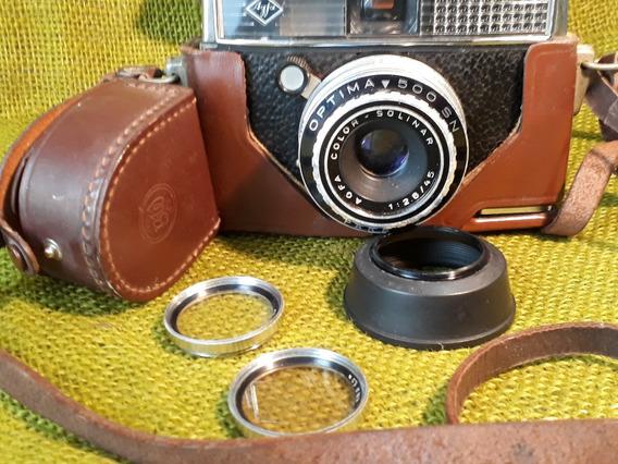 Maquina Fotografica Agfa Antiga