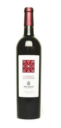 Vino Tinto Cabernet Sauvignon Tres Raíces 750 Ml