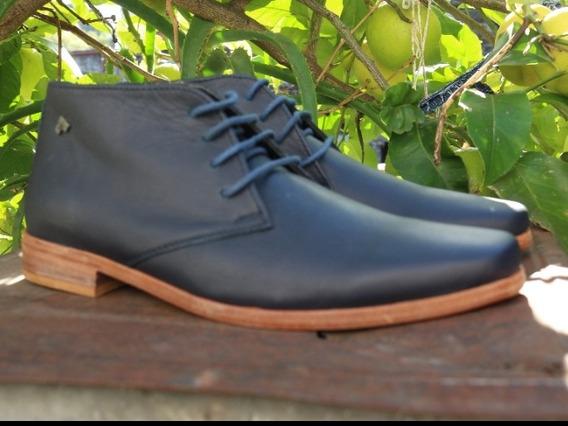 Zapato Botitas De Hombre De Vestir Símil Tascani
