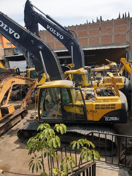 Excavadora Volvo Ec290blc De Brazo Largo