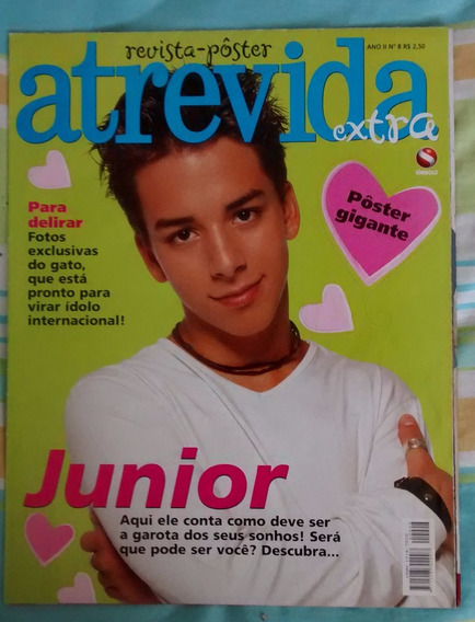 Revista-pôster Atrevida, Junior Lima