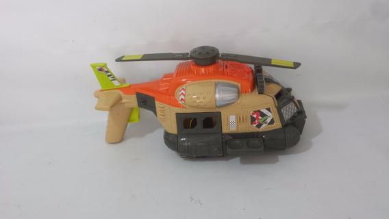Helicóptero Mattel 2012 Resgate.