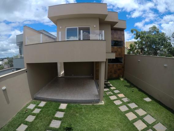 Casa Em Condomínio Com 3 Quartos Para Comprar No Condomínio Trilhas Do Sol Em Lagoa Santa/mg - Blv4572
