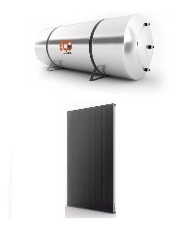 Aquecedor Solar Boiler 200 Lts Aço316l Baixa Pressão Ecoline