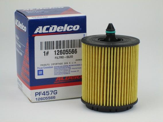 Filtro De Óleo Do Motor Captiva 2.4 Gasolina E Flex / Malibu