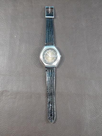 Relógio Pulso Tressa Automatico Funcionando Calendário