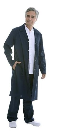 Guardapolvo Color Azul Hombre Tela Arciel Suedy Uniformes