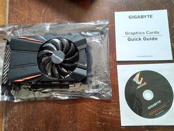 Placa De Vídeo Rx 550 2gb Gigabyte