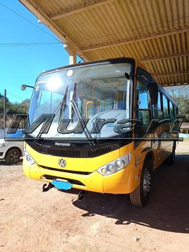 Imagem 1 de 6 de Onibus Senior Midi Vw 15-190 Ano 2013 Caminho Escola Ref 792