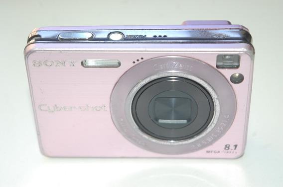 Câmera Sony Cyber-shot Dsc-w130 8.1 Megapixels Usada