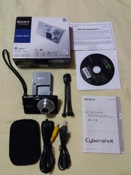 Câmera Sony Cyber-shot Dsc-w320 14.1 Megapixels