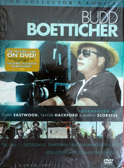 Dvd The Films Of Budd Boetticher Collection
