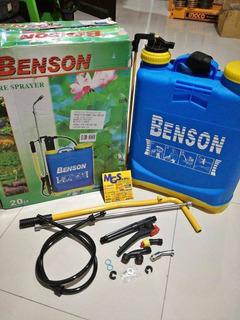 Fumigadora Bomba 20 Litros Benson Pesticidas Herbicidas