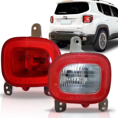 Par Lanterna Parachoque Tras Jeep Renegade 2015 16 17 2018