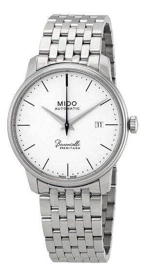 Relógio Mido Baroncelli Iii M0274071101000 Automatico Herita