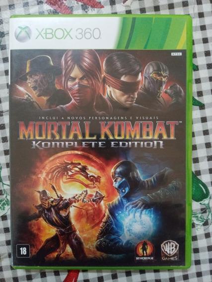 Mortal Kombat Komplete Edition Xbox 360 Original Em Dvd