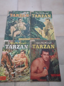 Revista Hq 1956/1958 Tarzan 1ª Série Nº62 À 97 Nº100 (cada)