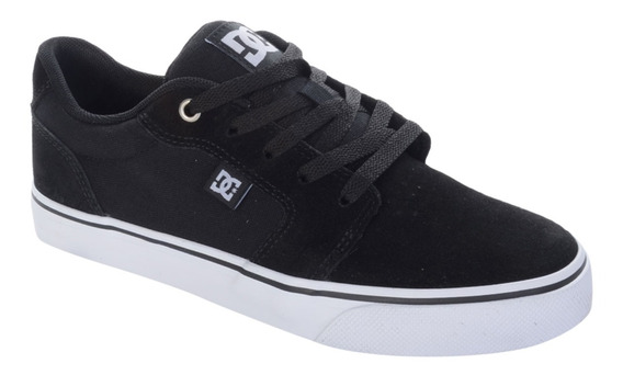 Dc Tênis Dc Shoes Anvil 2 La Preto E Branco - Preto / 38