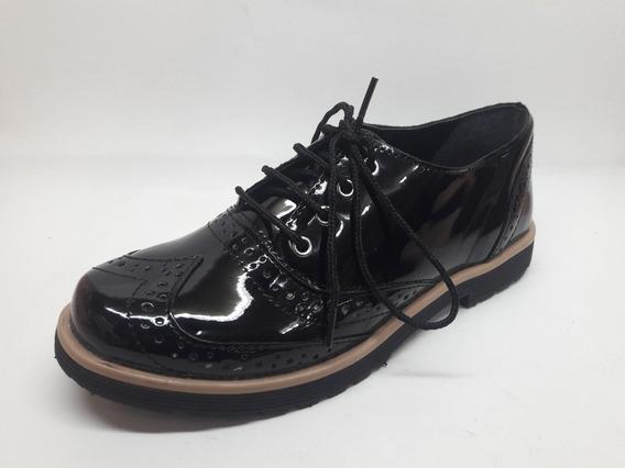 Zapato Acordonado De Dama Invierno 2019