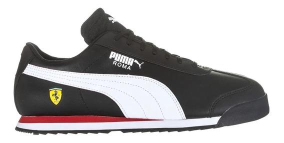 Tenis Puma M Sf Roma 306083 10 Pto Bco Vml