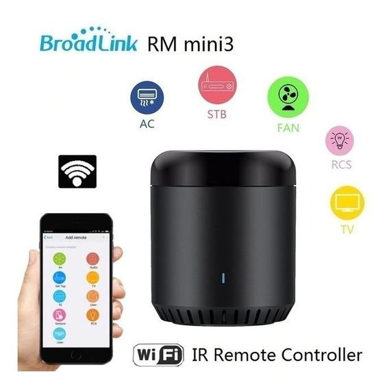 Controle Remoto Residencial Universal Broadlink Rm Mini 3
