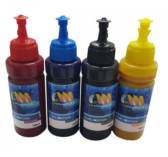 Kit 4 Tinta Refil 100ml Bulk Ink Epson Uso Universal