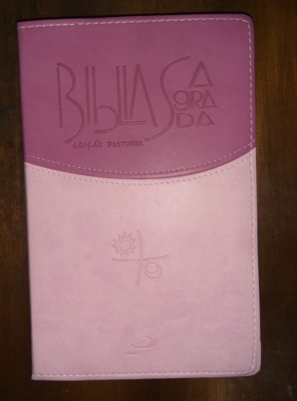 Bíblia Sagrada - Edição Pastoral - Rosa - Média - Paulus